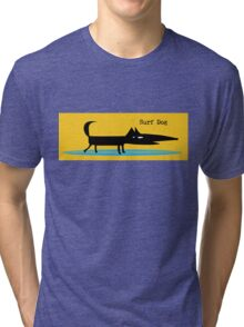 Surf Dog Tri-blend T-Shirt