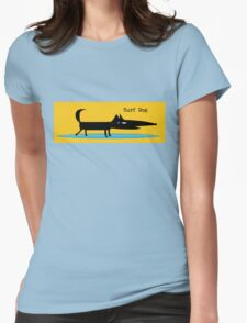 Surf Dog Womens Fitted T-Shirt