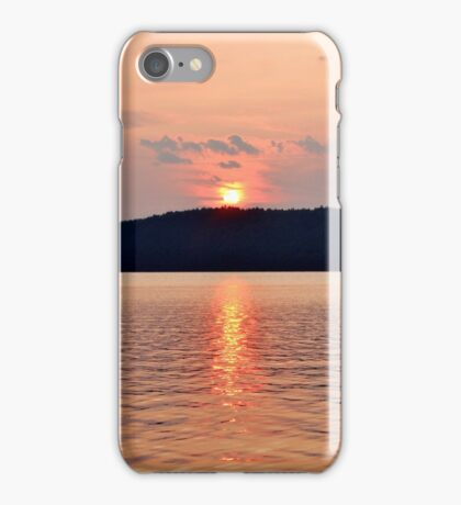 Summer Sunset at Meenan's Cove II iPhone Case/Skin