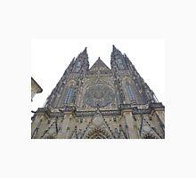 Twin West Spires, St Vitus's Cathedral, Prague, Czech Republic Unisex T-Shirt