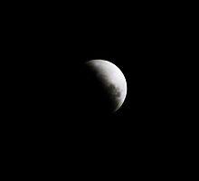 Lunar Eclipse by Kylie Mckay