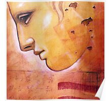 Face of Greek Statue - Artist Chris Bradley Poster