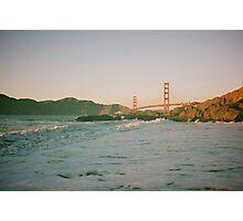 San Francisco waves Photographic Print