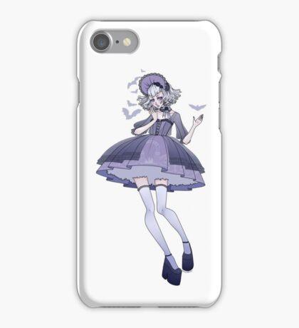 Lolita with bats iPhone Case/Skin