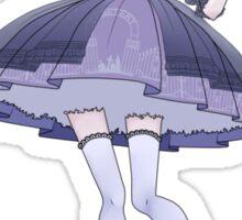 Lolita with bats Sticker