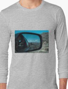 Rearview Landscape Long Sleeve T-Shirt