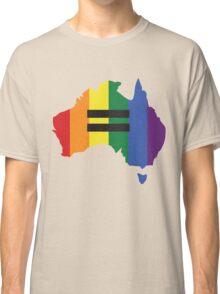 LGBT equality Australia Classic T-Shirt