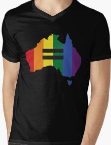LGBT equality Australia Mens V-Neck T-Shirt