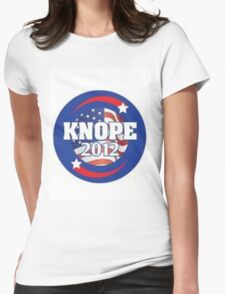 knope 2012 Womens Fitted T-Shirt