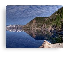 Crater Lake National Park - HDR Collection Canvas Print