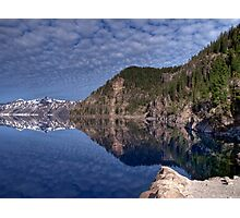 Crater Lake National Park - HDR Collection Photographic Print