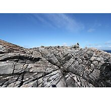 Rocky cliff Photographic Print