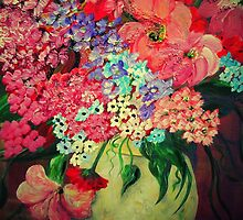 Fanciful Flowers by EloiseArt