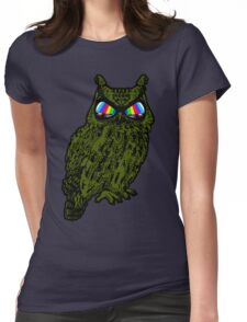Owl - Recon Womens Fitted T-Shirt