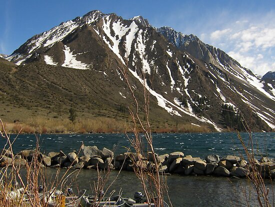 Lake Convict, Mammoth Lakes, CA by Laurie Puglia