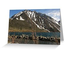 Lake Convict, Mammoth Lakes, CA Greeting Card