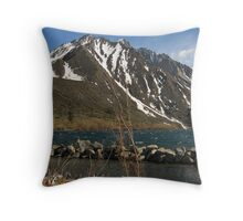 Lake Convict, Mammoth Lakes, CA Throw Pillow