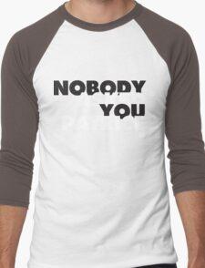 NOBODY asked you Patrice Men's Baseball ¾ T-Shirt