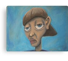 cratoonish portrait  Canvas Print