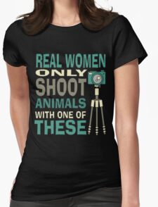 Real Women Only shoot with Cameras T-Shirt