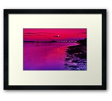 """Twilight Over Limeburners"" Framed Print"