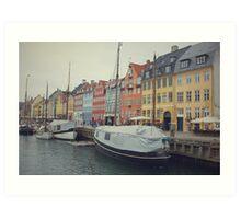 Copenhagen Nyhavn Art Print