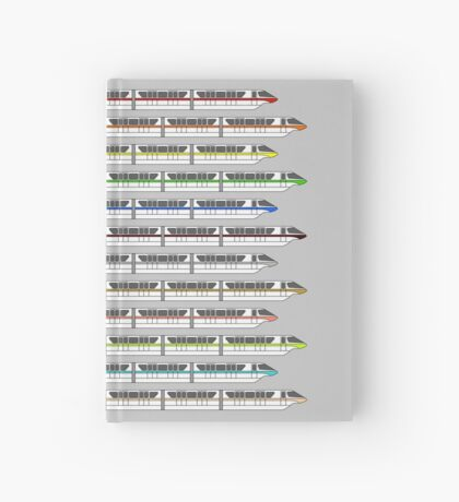 Monorail Fleet Hardcover Journal