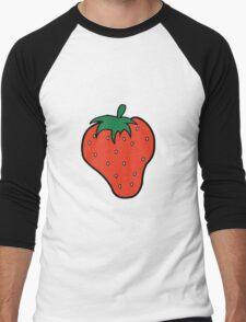Superfruit Strawberry Merch Men's Baseball ¾ T-Shirt
