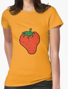 Superfruit Strawberry Merch Womens Fitted T-Shirt