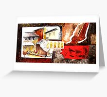 Moods of india 2 Greeting Card