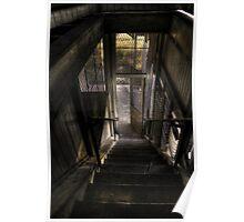 Stairs at Woogaroo Poster