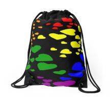 Love is Love Diversity Hearts Drawstring Bag