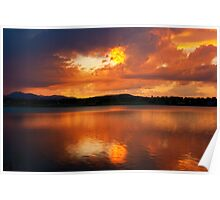 Golden Nugget Sunset Poster