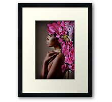 `Hush! Hush!' said the Rabbit in a low, hurried tone Framed Print