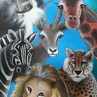 Jungle Animals by Selinah Bull