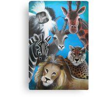 Jungle Animals Canvas Print