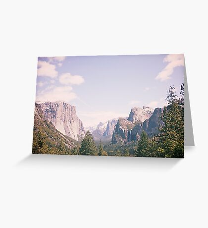 Yosemite beauty Greeting Card