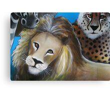 Lion - 'Jungle Animals'  Canvas Print
