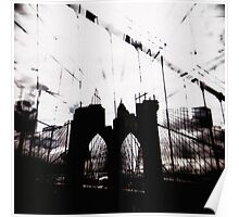 Brooklyn Bridge double Poster