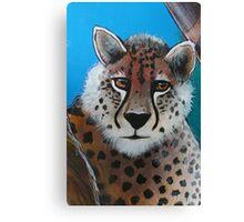 Cheetah - 'Jungle Animals' Canvas Print