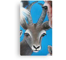 Antelope - 'Jungle Animals'  Canvas Print