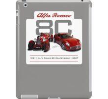 Alfa Romeo 8C Old and New iPad Case/Skin