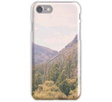 Yosemite forest iPhone Case/Skin
