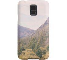 Yosemite forest Samsung Galaxy Case/Skin