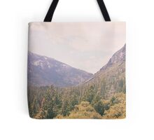 Yosemite forest Tote Bag