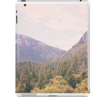 Yosemite forest iPad Case/Skin