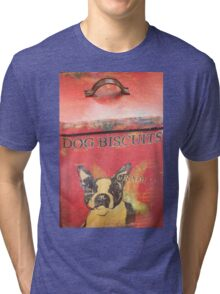 Dog Biscuits Tri-blend T-Shirt