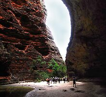 Leaving Cathedral Gorge by georgieboy98