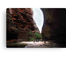 Leaving Cathedral Gorge Canvas Print
