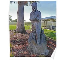 Ash Wednesday Memorial, Millicent, South Australia Poster